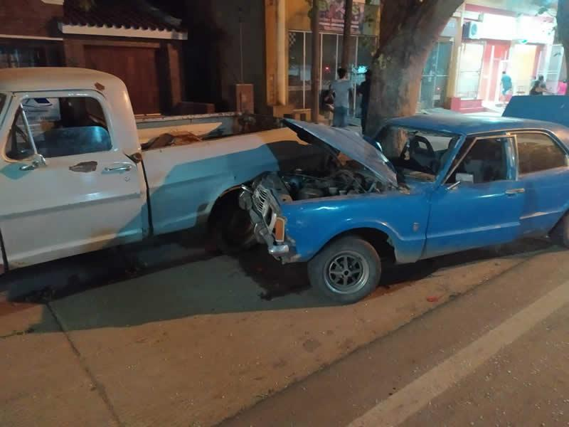 Accidente en Av. San Martín