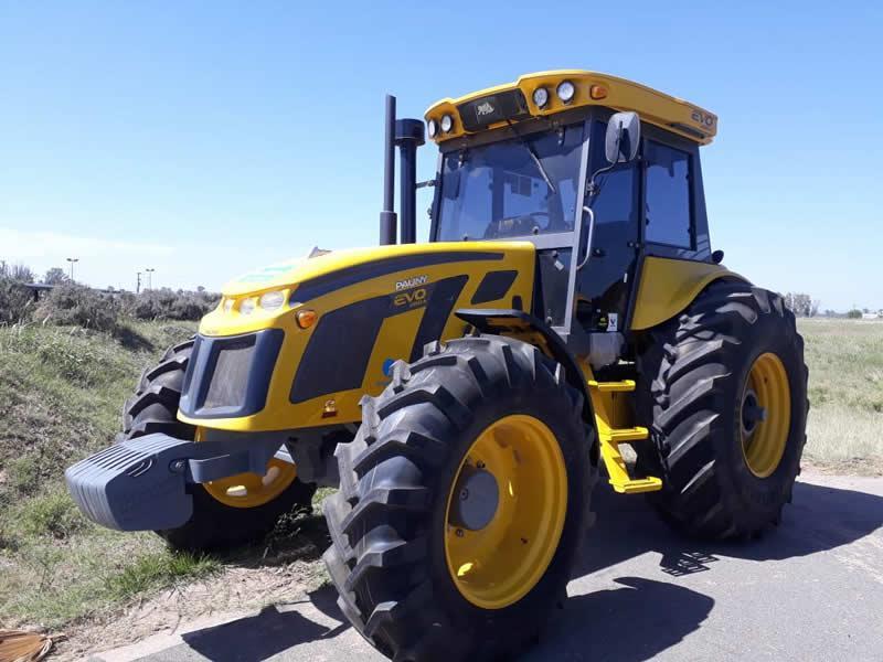 Tractor para el consorcio de Sinsacate